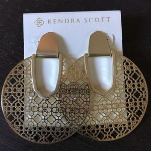 ❗️Sale❗️Kendra Scott Diane Filigree In Gold